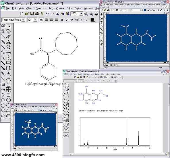 یک نرم افزار کاربردی شیمی